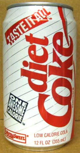 DIET COCA-COLA MICKEY/'S TOONTOWN Soda CAN Disneyland Atlanta GEORGIA 1992 gd.1