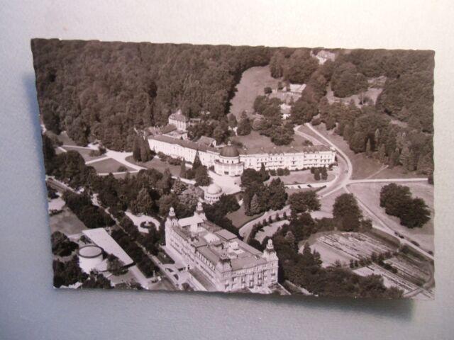 Ansichtskarte Bad Wildungen Fürstenhof mit Badehotel 1962 Luftbild