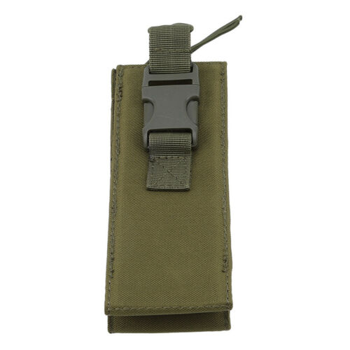 Outdoor Tactical Molle Water Bottle Holder Pouch Military Sport Bag Hiking FA