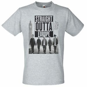 Unisex-Straight-Outta-Europe-T-Shirt-Funny-Brexit-T-Shirt-UK
