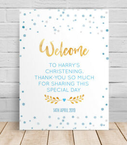 Welcome-to-the-Christening-Day-Personalised-Table-Sign-Poster-Naming-ceremony