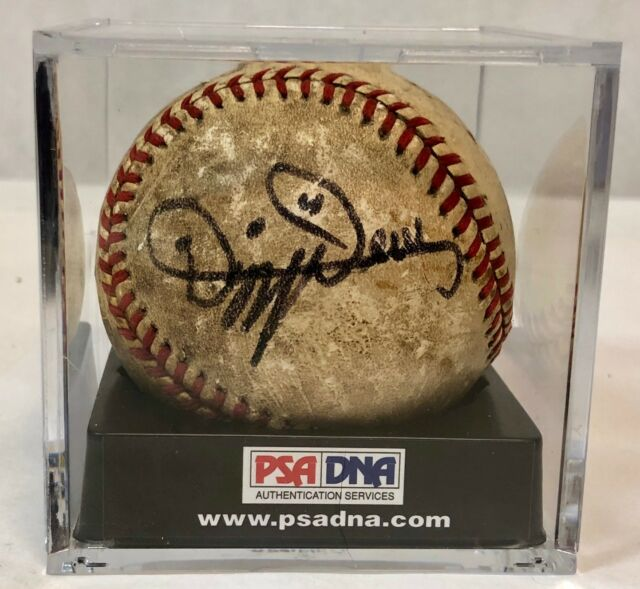 DIZZY DEAN SIGNED PSA/DNA CERTIFIED 8 AUTOGRAPHED BASEBALL - PSA #AD05762 RARE!