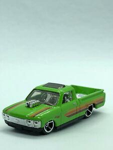 HOT Wheels Personalizzato'72 Chevy Luv VERDE 2019-non imballati