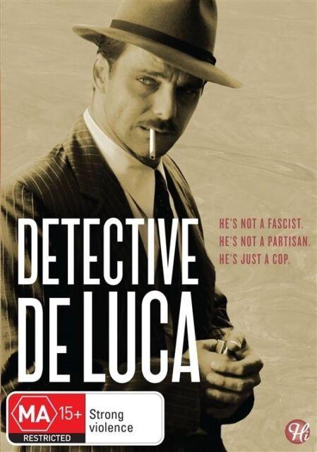 Detective De Luca [Aus Region 4] - DVD Free Postage, Like New