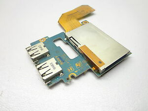 Sony-Vaio-Netbook-VGN-TZ340-PCG-4P1L-Laptop-Usb-amp-Card-Reader-Board-with-Cable