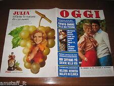 RIVISTA OGGI 1974/9=LANDO BUZZANCA=MARIANGELA MELATO=BRIGITTE BARDOT=SYDNE ROME=