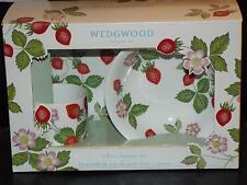 Wedgwood Wild Strawberry Petite Bone China Childs MUG BOWL PLATE SET England