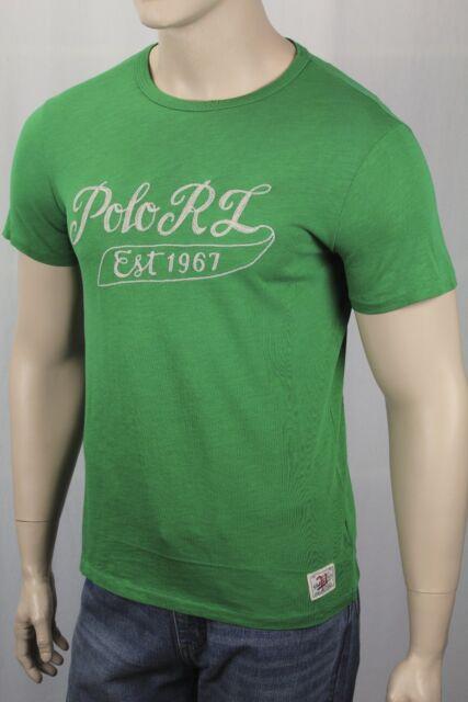 Fit L Shirt Men's Custom T Polo Green Large Crew Ralph Lauren Neck Fiji ZiOkXPuT