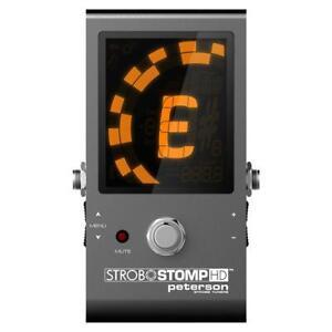 Peterson StroboStomp HD Compact Pedal Strobe Tuner