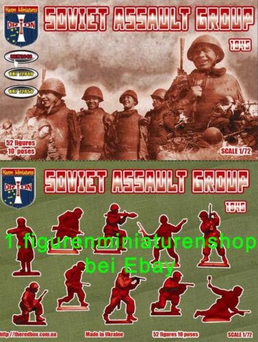 1:72 FIGUREN 72048 SOVIET ASSAULT GROUP 1945 ORION