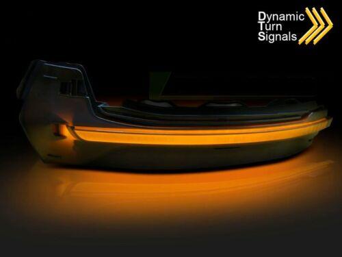 Dynamisk LED-spegel Sidriktning AUDI A3 8V 12-16 Rök KBAU16EZ XINO DE