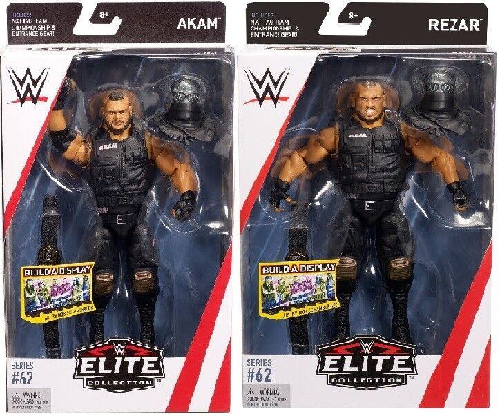 WWE Mattel Authors of Pain Akam and Rezar Elite Series 62 Figures