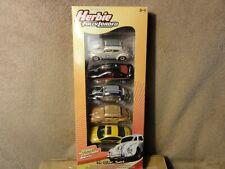 Herbie Fully Loaded 5 Voiture Pack Love Bug vw new beetle GTO JL Johnny Lightning