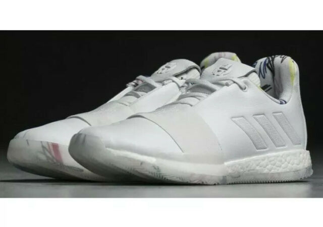 Men's Adidas Harden Vol 3 /'Doodle/' White Boost Basketball Shoes G54022