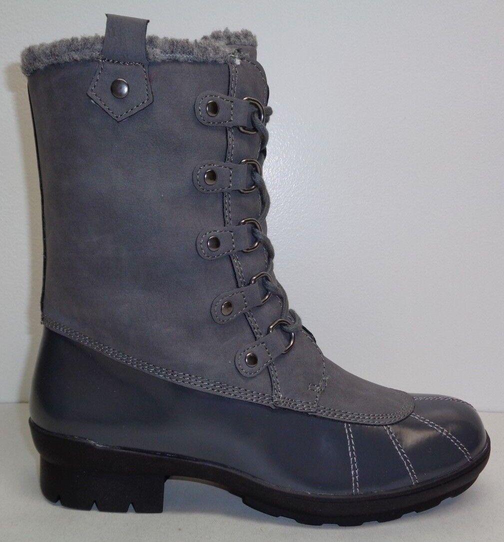 Aerosoles Size 7 BARRICADE Grey Combo 061 Memory Foam Boots New Womens Shoes