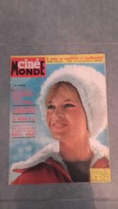 Ciné Monde - N º 1491 - Mardi 5 Mars 1963 - Brigitte Bardot