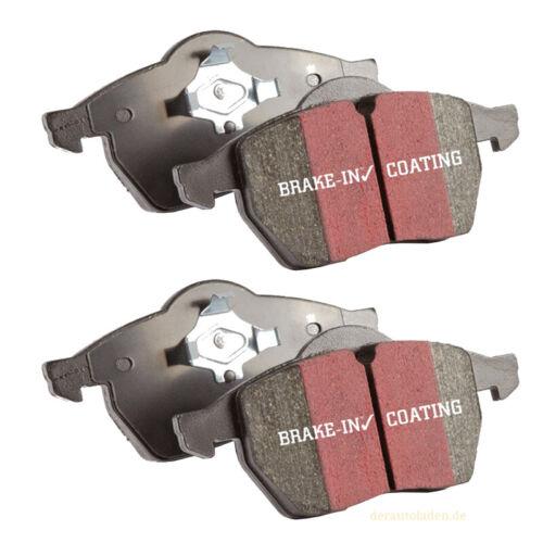 EBC Blackstuff Ultimax2 Bremsbeläge DP872 Bremsklötze Vorderachse Bremsen Belag