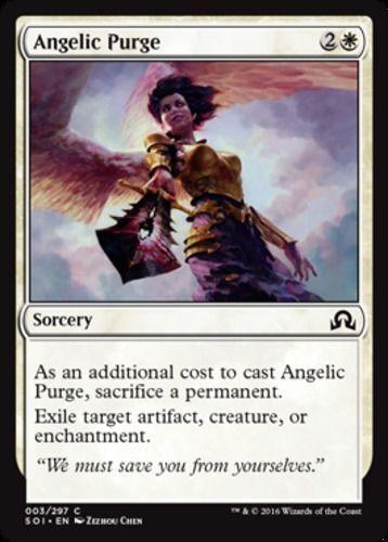 4x 4 x Angelic Purge x4 Common Shadows over Innistrad UNPLAYED MTG Magic