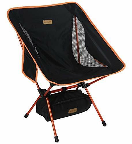 Trekology Yizi Go Portable Chaise de camping-Compact UltraLéger Pliable