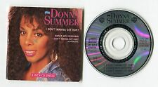 Donna Summer 3-INCH-cd-maxi I DON'T WANNA GET HURT © 1989 German-3-tr 257 565-2