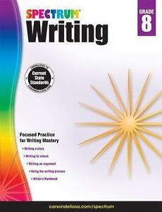 Spectrum-Spectrum-Writing-Grade-8-2014-Paperback