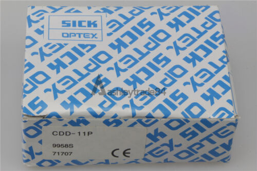 SICK Optex Photoelectric Sensor CDD-11P CDD 11P New in box