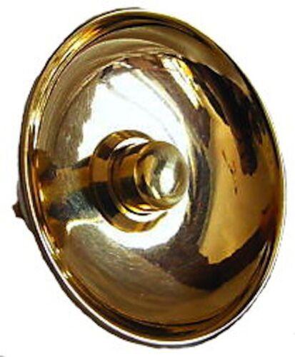 Campanello Campanella campana pulsantiera ottone lucido pulsantiera da esterno