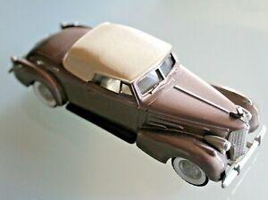 BROOKLIN-MODELS-1-43-CADILLAC-V16-convertible-coupe-1940-N-BRK-14-Boite