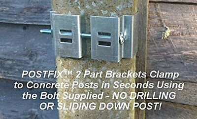 Postfix Hanging Basket Brackets For Concrete Fence Posts Installation Video Dailymotion