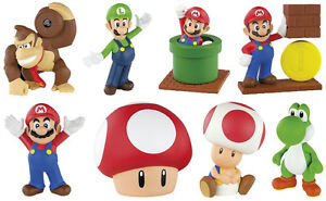 Mcdonald S Super Mario Toys 2014 New Choose Mario Yoshi Toad Luigi