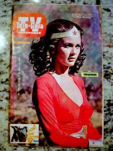 TV-Guide-1978-Wonder-Woman-Lynda-Carter-International-TV-Guia-EX-NM-COA-Rare