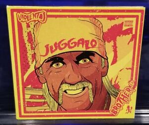 Violent J - Brother EP CD insane clown posse icp shaggy 2 dope hulk hogan wicked