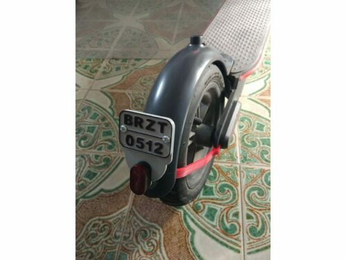Targa personalizzabile per monopattino Xiaomi m365 accessori scooter elettrico