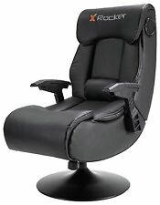 X-Rocker Elite Pro PS4 Xbox One 2.1 Audio Faux Leather Gaming Chair Nice Gift.