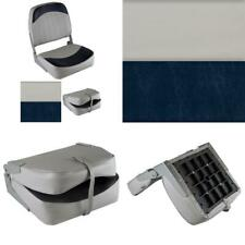 Wise 8WD734PLS-661 Low Back Boat Seat Grey//Red
