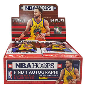 Panini-Hoops-2018-19-Retail-Box-NBA-Basketball-Sealed-Cards