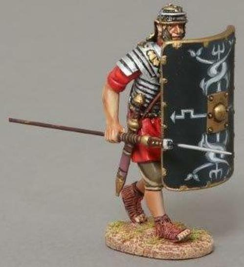 THOMAS GUNN ROMAN EMPIRE ROM036B 30TH LEGIONNAIRE ADVANCING WITH PILUM MIB