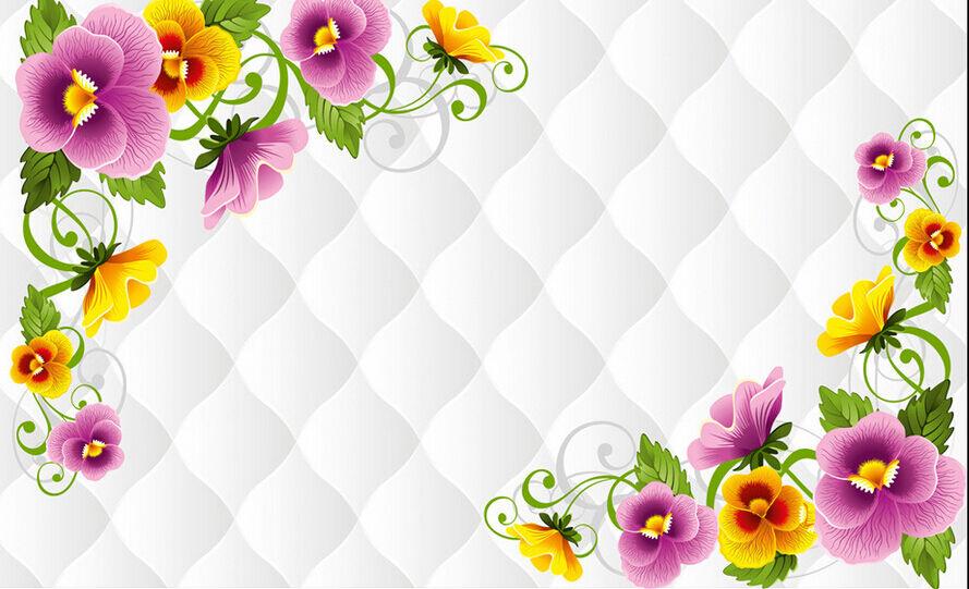 3D Farbmuster 567464 Fototapeten Wandbild Fototapete BildTapete Familie DE