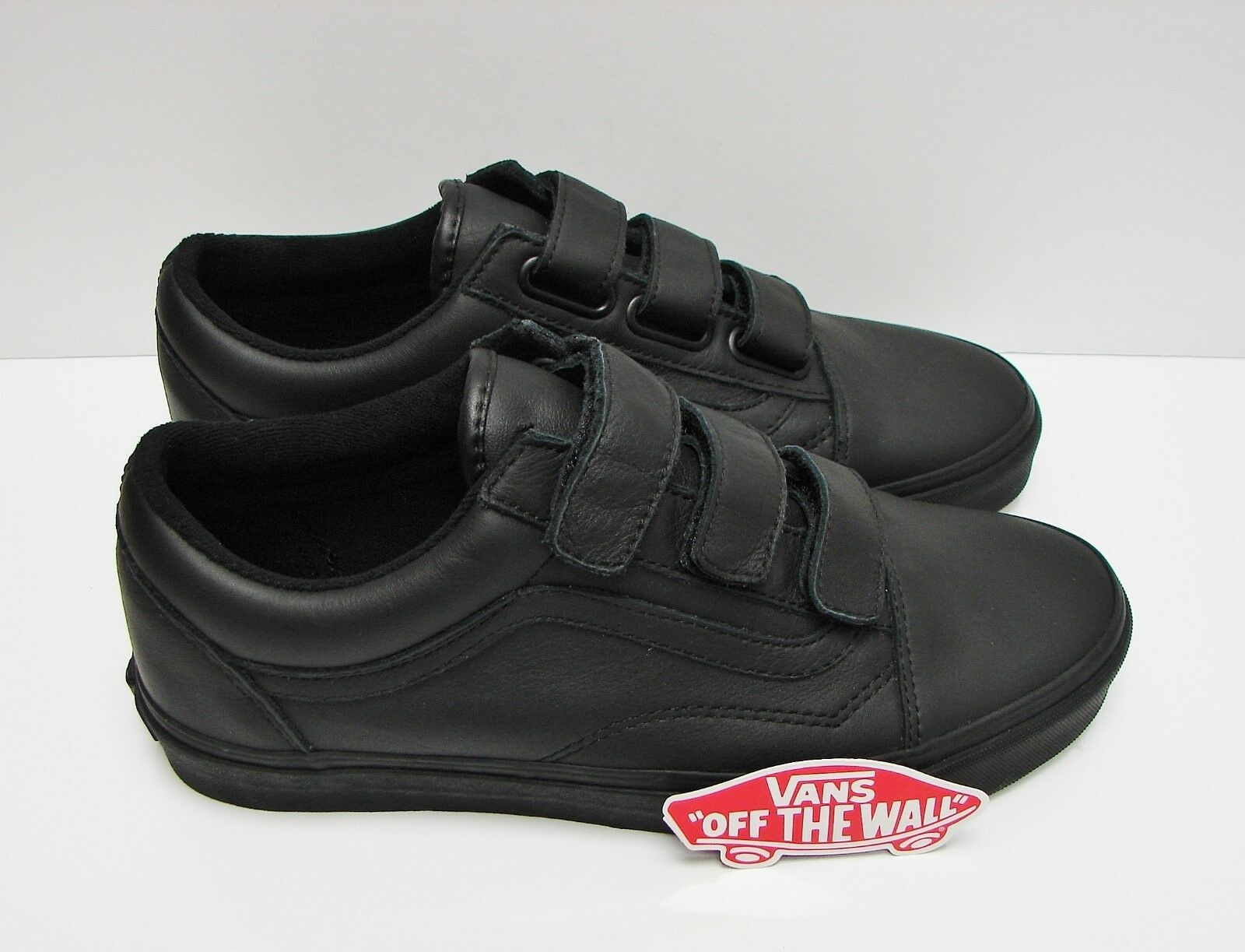 Vans Old Skool V Mono Leather Black VN0A3D29OOZ Men's Size  7.5