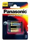 Panasonic 2cr5 Lithium Camera Battery 6 Volt Dl245el