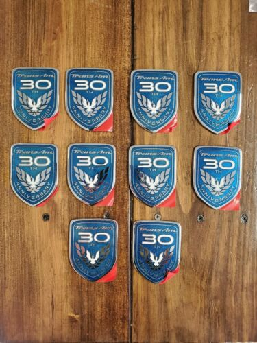 1999 Trans Am 30th Anniversary Door Emblems Pontiac WS6 1 emblem 10 available