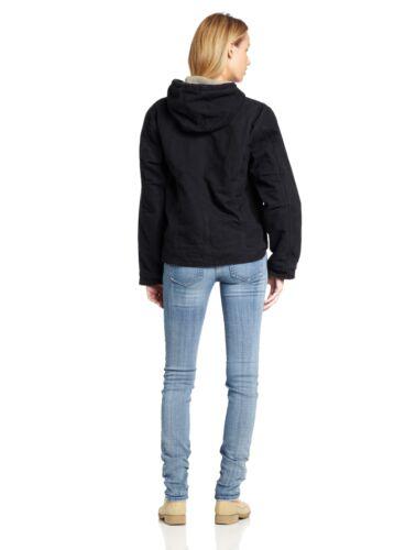 35481573958 Sierra Kvinder Sandstone Sort Wj141 Jacket Foret Sherpa Carhartt Medium qzBwB