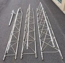 USED 30 ft Radio, Weather, Generator, Aluminum Antenna Tower