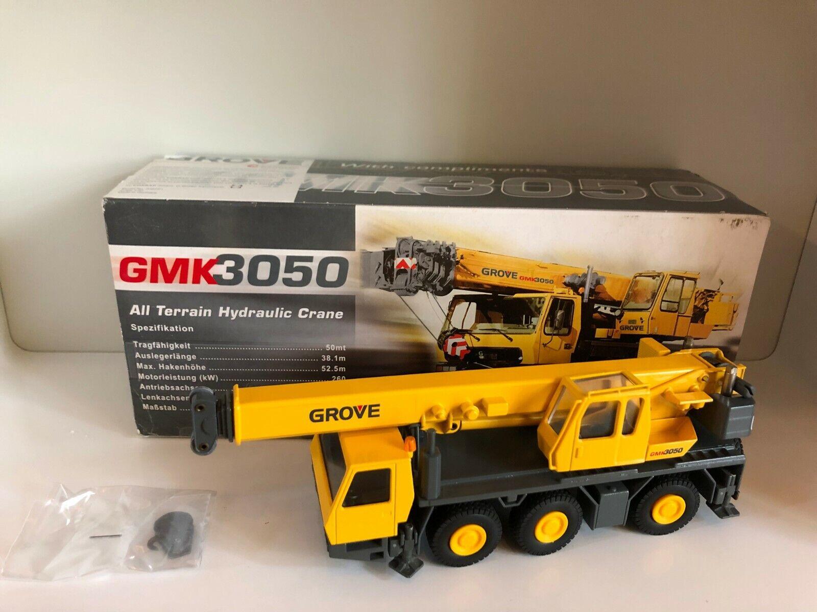 están haciendo actividades de descuento Grove GMK 3050 grúa de Conrad 2092 1 1 1 50 OVP  garantizado