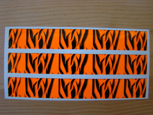 CARBONE ARROW Wraps Custom 13 pack 7 in environ 17.78 cm Blanc Fade Rouge Flammes Fade
