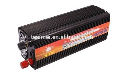New 4000W Watts 8000W(peak) 24v to 220v 230V 240V Power Inverter+Charger & UPS