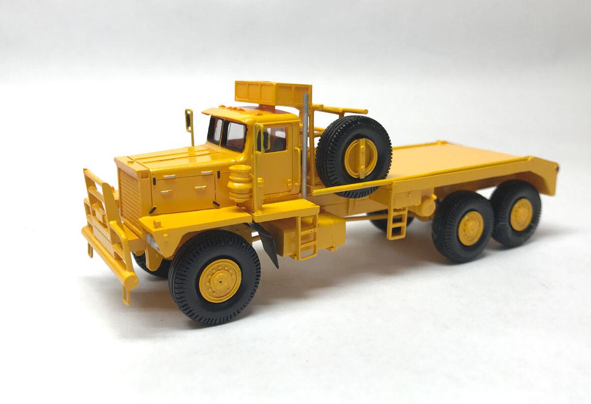 seguro de calidad Listo resin ho 1 87 87 87 Pacific p12w  ROUGHNECK  amarillo-fankit Models  salida de fábrica