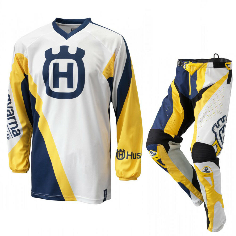 Motocross Racing Suit Husqvarna Husky Combo Sleeve Jersey Pants long Sleeve Combo Shirt MX d0f7f0