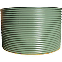 6500lt Colorbond Aquaplate Round Steel Squat Rain Water Tank - Victoria Delivery