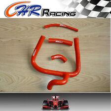 fit Honda CR250 CR250R 2002 02 silicone radiator hose Kit 2 strokes